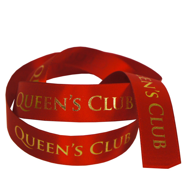 Queens Printed Ribbon
