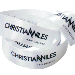 Christian Wiles Printed Double Faced Satin Ribbon