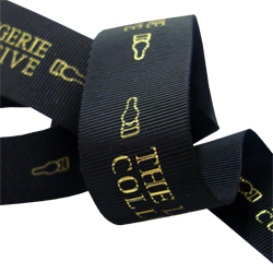 printed grosgrain ribbon from as little as 500 metres